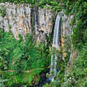 Purlingbrook Falls In Australia Art Print
