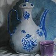 Purple Cup Art Print