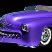 Purple Customized Art Print
