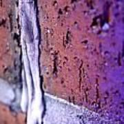 Purple Damage. Art Print