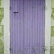 Purple Door Number 46 Art Print by Georgia Fowler