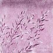 Purple Gras Art Print