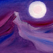 Purple Night 2 Art Print