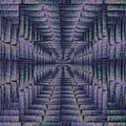 Purple Portal Art Print