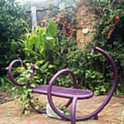 Purple Seat Art Print