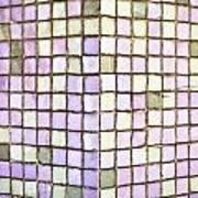 Purple Tiles Art Print