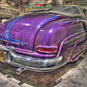 Purplre Car Dearborn Mi Art Print