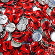 Push Chevys Buttons Art Print