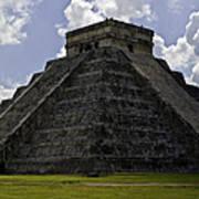 Pyramid  Of Kukulkan  Art Print