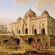 Qal' A-l-kuhna Masjid - Purana Qila Art Print