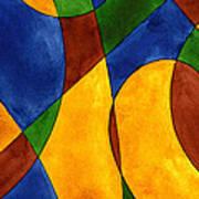 Quadrichrome 13 Art Print