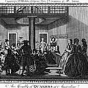 Quaker Meeting, C1790 Art Print