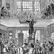 Quaker Meeting House Art Print