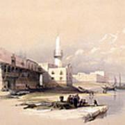 Quay At Suez Febrary 11th 1839 Art Print