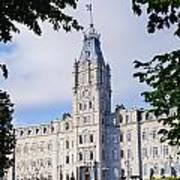 Quebec Parliament Buildings Quebec Art Print