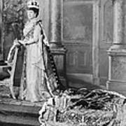 Queen Alexandra, 1902 Print by Omikron