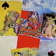 Queen Of Spades 45-52 Art Print
