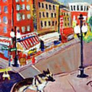 Queenie On Forsythe Street Manhattan Nyc Art Print