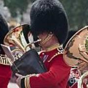 Queens Guards Band Art Print