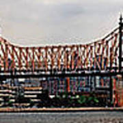 Queensboro Bridge Art Print