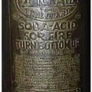 Quick Aid Extinguisher Art Print