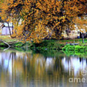 Quiet Autumn Day Art Print