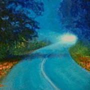 Quiet Road Home Art Print