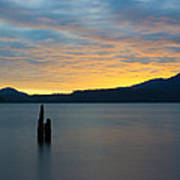 Quinault Sunset Art Print