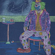 Quit Clowning Around Art Print
