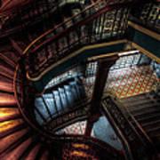 Qvb Stairs Art Print