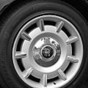 R R Wheel Art Print