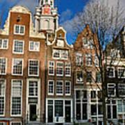 Raamgracht 19. Amsterdam Art Print