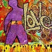 Race 4 Love Art Print