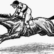 Race Horse, 1900 Art Print