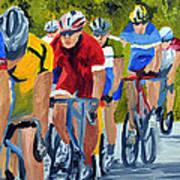 Race Warm Up Art Print