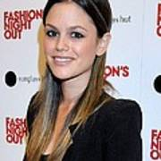 Rachel Bilson At A Public Appearance Art Print
