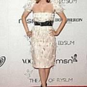 Rachel Bilson Wearing A Chanel Dress Art Print by Everett