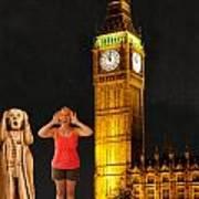 Rachel Hoovler Screams Big Ben Art Print