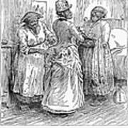Racial Caricature, 1886 Art Print