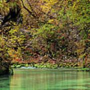 Radovna River In Vintgar Gorge Slovenia Art Print