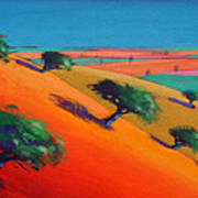 Ragged Stone Hill Art Print