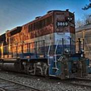 Rail America's 3869 Art Print