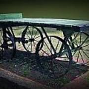 Rail Road Wagon Art Print
