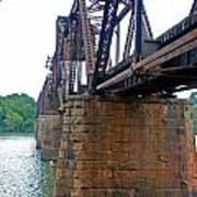 Railroad Bridge 2 Art Print