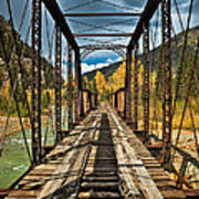 Railroad Bridge Art Print