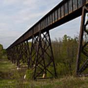 Railroad High Bridge 3 Art Print
