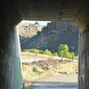 Railroad Tunnel Art Print