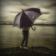 Rain Day 2 Art Print by Heather  Rivet