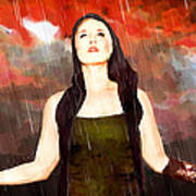 Rain Drain Art Print