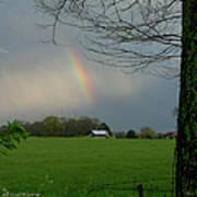 Rainbow After The Rain Art Print